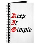 keep-it-simple Journal