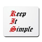 keep-it-simple Mousepad