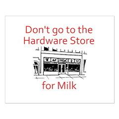 hardware-store-milk Posters