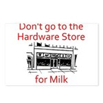 hardware-store-milk Postcards (Package of 8)