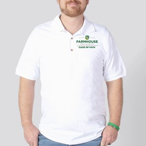 Farmhouse Class Of Personalized Golf Shirt