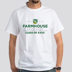 Farmhouse Class Of Personalized White T-Shirt