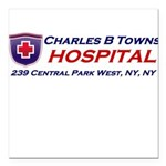 charles-r-towns Square Car Magnet 3