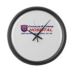 charles-r-towns Large Wall Clock