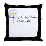 chalk-talk Throw Pillow