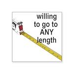 any-length Sticker