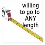 any-length Square Car Magnet 3