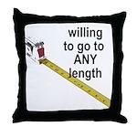 any-length Throw Pillow