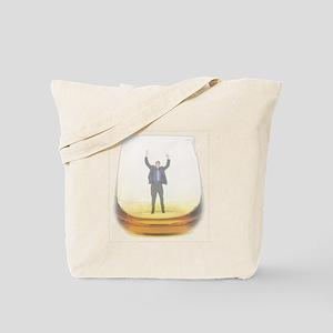 man-in-glass Tote Bag