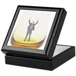 man-in-glass Keepsake Box