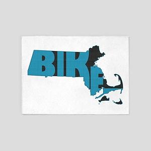 Bike Massachusetts 5'x7'Area Rug