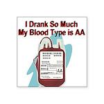blood-type Sticker