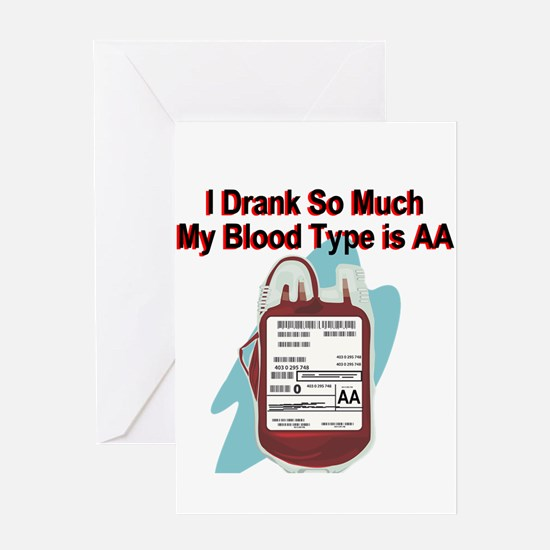blood-type.png Greeting Cards