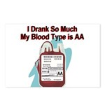 blood-type Postcards (Package of 8)