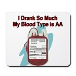 blood-type Mousepad