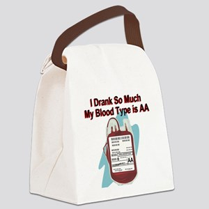blood-type Canvas Lunch Bag