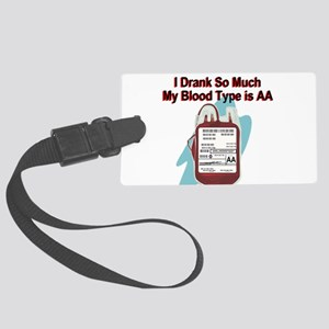 blood-type Luggage Tag