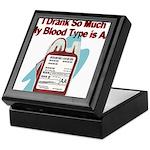 blood-type Keepsake Box