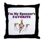 sponsors-favorite Throw Pillow