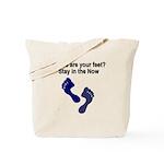 where-are-feet Tote Bag