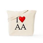 2-i-love-aa Tote Bag