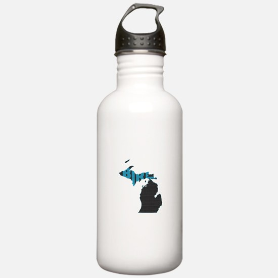 Bike Michigan Water Bottle
