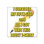 survived-fifth-step Sticker