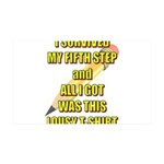 survived-fifth-step Wall Decal