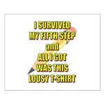 survived-fifth-step Posters