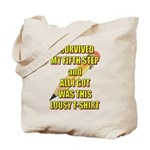 survived-fifth-step Tote Bag