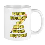 survived-fifth-step Mugs