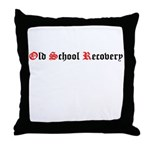 old-school-recovery Throw Pillow