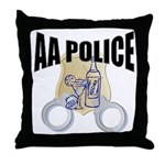 aa-police Throw Pillow