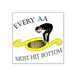 must-hit-bottom Sticker