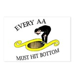 must-hit-bottom Postcards (Package of 8)