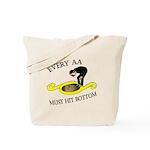 must-hit-bottom Tote Bag