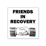 FRIENDS-RECOVERY Sticker