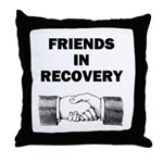 FRIENDS-RECOVERY Throw Pillow