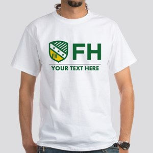 Farmhouse Personalized White T-Shirt