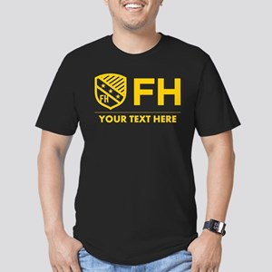 Farmhouse Personalized Men's Fitted T-Shirt (dark)