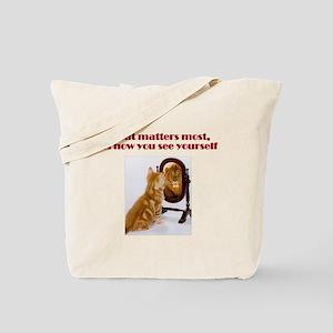 cat-lion Tote Bag