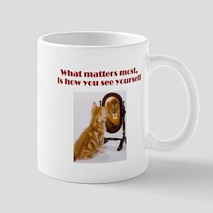 cat-lion Mugs