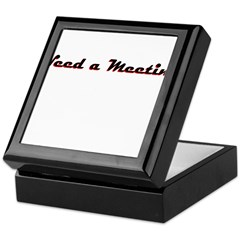 need-a-meeting Keepsake Box