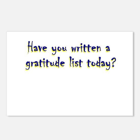 gratitude-list.png Postcards (Package of 8)