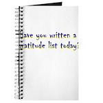 gratitude-list Journal