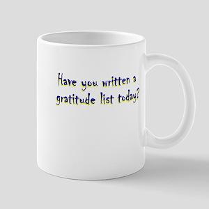 gratitude-list Mugs