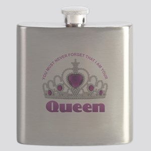 I Am Your Queen Flask