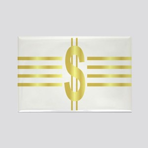 John Galt Dollar Emblem Rectangle Magnet