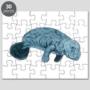 baby manatee puzzles cafepress
