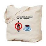 attitude-life-changed Tote Bag